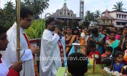 Celebration of nativity feast at St. Antony church , Naravi